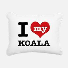 I heart Koala designs Rectangular Canvas Pillow