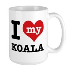 I heart Koala designs Mug