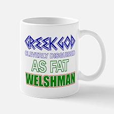 Fat Welsh designs Mug