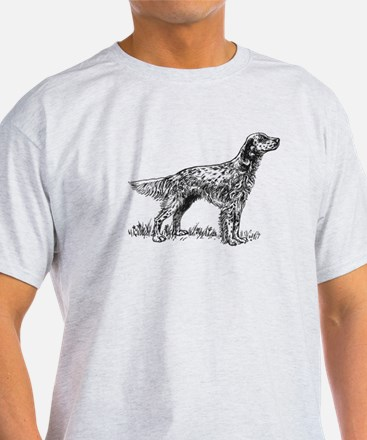 English Setter Sketch T-Shirt