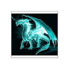 """Ice Dragon Square Sticker 3"""" x 3"""""""
