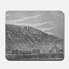 Ice Mountain Circa 1845 Mousepad