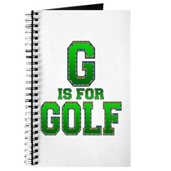 G is for Golf Journal