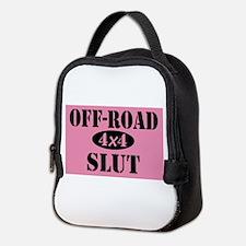 Off-Road Slut - Pink Neoprene Lunch Bag