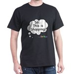 The Retail Therapy Dark T-Shirt