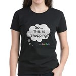 The Retail Therapy Women's Dark T-Shirt