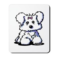 Maltese Pride n' Joy Mousepad