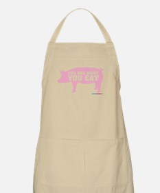 You Are What You Eat Pig Apron