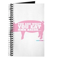 You Are What You Eat Mmm Bacon Journal