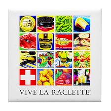 Vive la Raclette! Tile Coaster