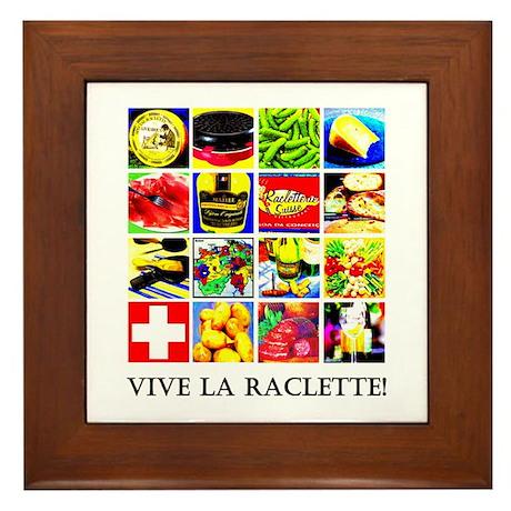 Vive la Raclette! Framed Tile