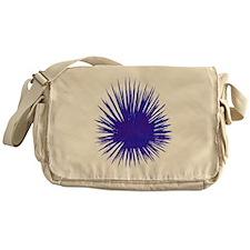 Purple Sea Urchin Messenger Bag