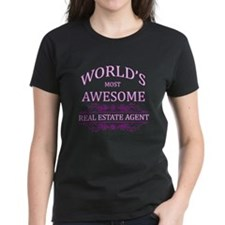 World's Most Awesome Real Estate Agent Tee