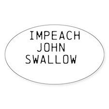 Impeach John Swallow Decal