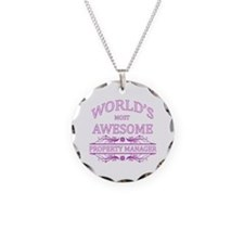World's Most Awesome Property Manager Necklace