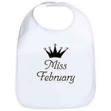 Miss February Bib