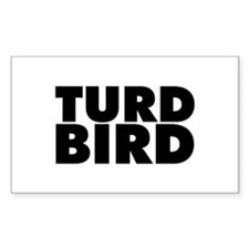 Turd Bird Decal