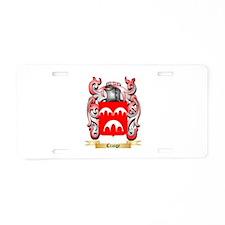 Craige Aluminum License Plate