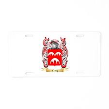 Craig Aluminum License Plate
