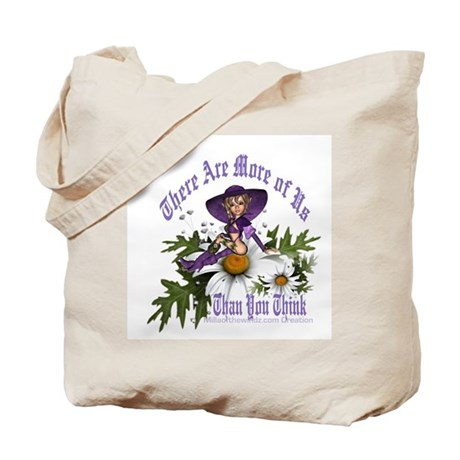 There Are More of Us: Pagan W Tote Bag