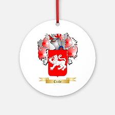 Crabe Ornament (Round)