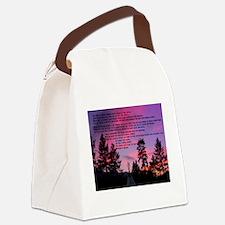 Great Spirit Prayer Canvas Lunch Bag