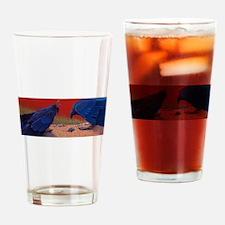 Tracy L Teeter Destiny Unknown Drinking Glass