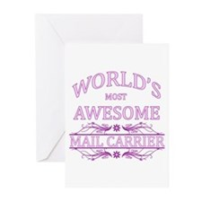 World's Most Awesome Paralegal Greeting Cards (Pk