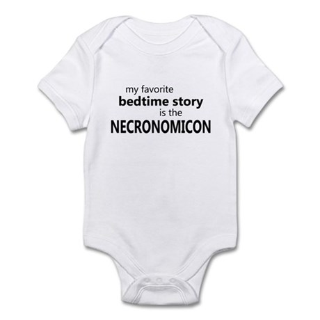 Bedtime Necronomicon Infant Bodysuit