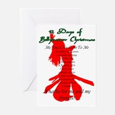 Bellydancer Christmas Cards (Pk of 10)