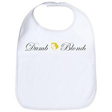 Dumb Blonde Bib