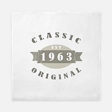 1963 Birthday Classic Original Queen Duvet