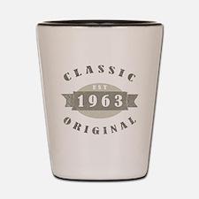 1963 Birthday Classic Original Shot Glass