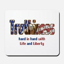 Truthiness Mousepad