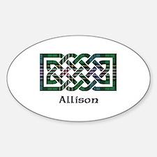 Knot - Allison Sticker (Oval)