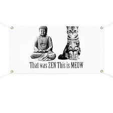 zen cat Banner