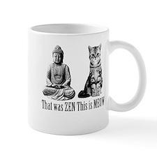 zen cat Mug