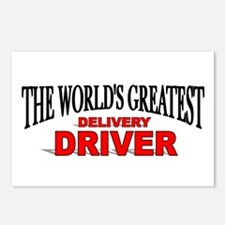 """The World's Greatest Delivery Driver"" Postcards ("