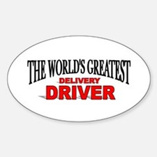 """The World's Greatest Delivery Driver"" Decal"