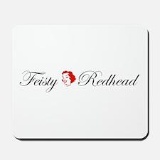 Feisty Redhead Mousepad