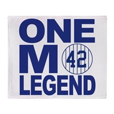 One more legend Throw Blanket