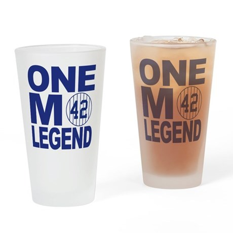 One more legend Drinking Glass