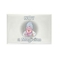 NOT a Magician Rectangle Magnet
