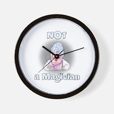 NOT a Magician Wall Clock
