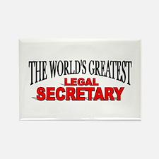 """The World's Greatest Legal Secretary"" Rectangle M"