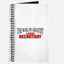 """The World's Greatest Legal Secretary"" Journal"