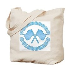 Vintage Colorguard Blue Tote Bag