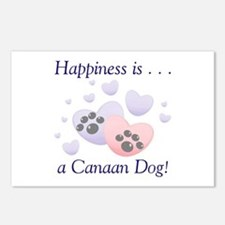 Happiness is...a Canaan Dog Postcards (Package of
