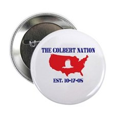 The Colbert Nation Button