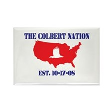 The Colbert Nation Rectangle Magnet
